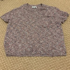 NWOT Madewell Knit Pocket Tee Size XS